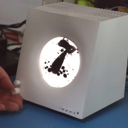 磁性流体を使った Audio visualizer